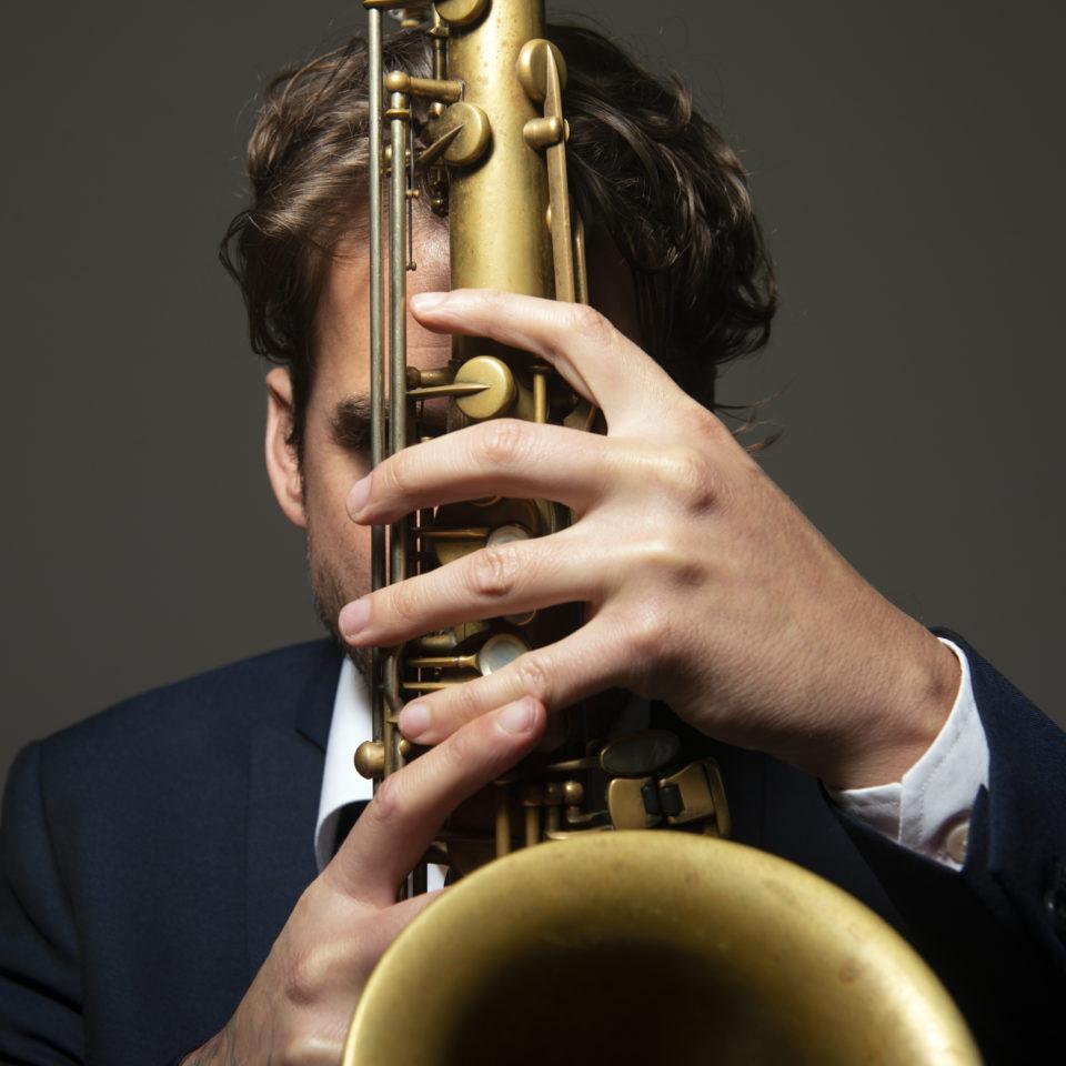 Samy Thiebault sax